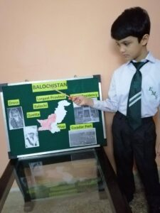 Grade 2 Pakistan: Freedom, Provinces and Territories